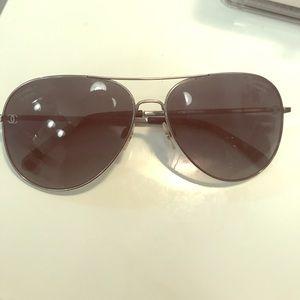 Chanel polarized aviator sunglasses