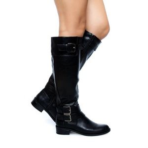 doric-black-knee high-rider boots