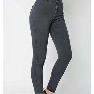 Black American Apparel Easy Jeans