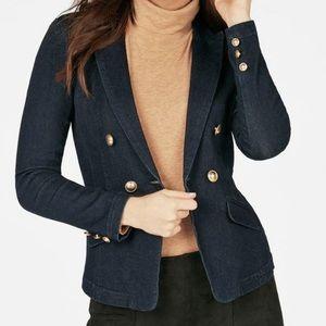 JustFab |  NWOT Maritime denim blazer