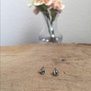 Sparkle Stone Stud Earring