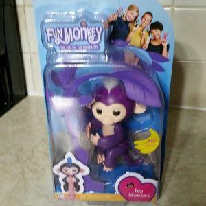 Finger lings funny Monkey