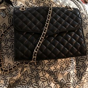 Rebecca Minkoff Black AFFAIR Quilted with tags!!