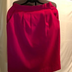 TOFF's Red Skirt Size 14