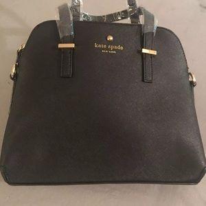 Kate Spade black satchel adjustable