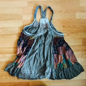 Free People Patchwork Tank