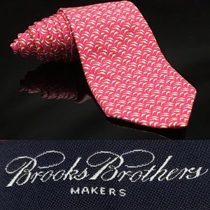Brooks Brothers Makers Res Dolphins 🐬 100% Silk