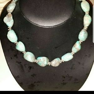 Turquoise x2 necklace
