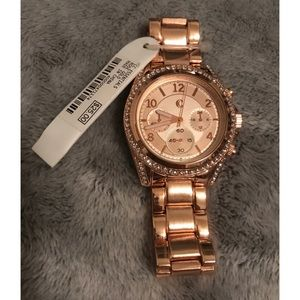 Rose Gold Watch NWT