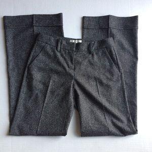 CAbi Marbled Gray Wide Leg Dress Pants