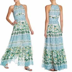Eliza j floral maxi dress