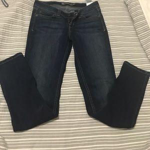 Levi's dark denim jeans
