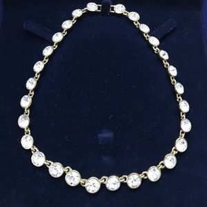 Givenchy swarovski crystal necklace