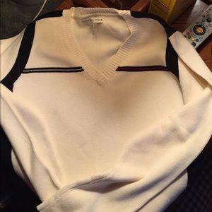 Tommy Hilfiger Pull Over V Neck Sweater