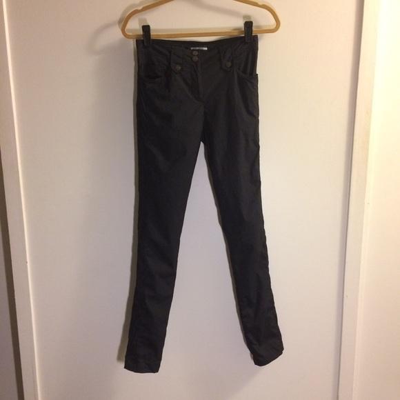 Anatomie Pants | Skyler Pinstripe Pant Small Blacksilver | Poshmark