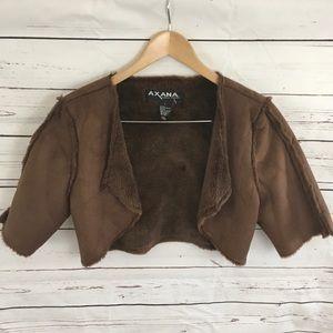 Jackets & Blazers - Faux Shearling Bolero NWOT
