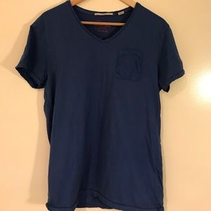 Other - Scotch and Soda blue pocket T-shirt size M