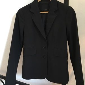 limited black classic suit jacket