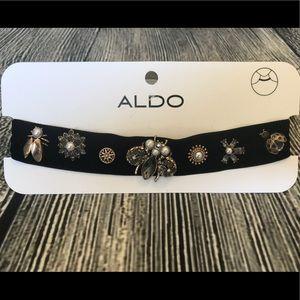 Aldo Velvet Choker🐞