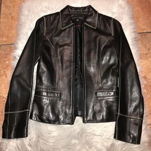 Kenneth Cole Soft Leather Jacket