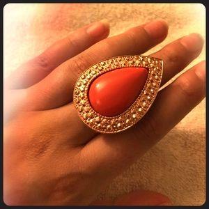 Samantha Wills Rose Gold Cocktail Ring