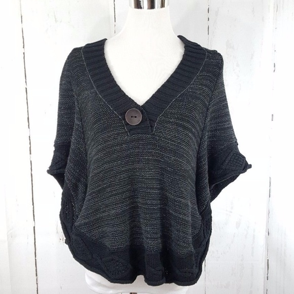 9b3c6a9a4a Free People Sweaters | Poncho Hooded Sweater | Poshmark