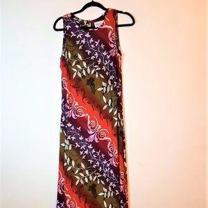 Vintage Kathie Lee Floral Size 6 Women's Dress