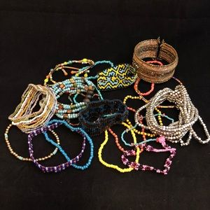 Seed Bead Bracelet Bundle