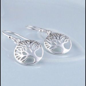 Sterling Tree of Life Earrings