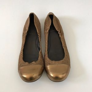 AUTHENTIC Tory Burch Copper Flats SZ 8
