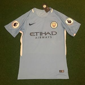 Other - 2017/18 Manchester City Soccer Jersey HOME blue