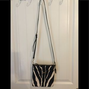 Coach Zebra Crossbody Bag