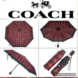 Coach Automatic Compact Signature Umbrella F63364