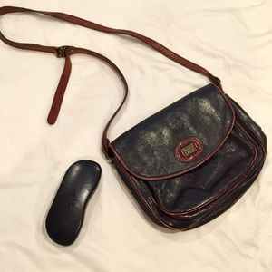 Marco Polo Genuine Vintage Leather Crossbody Bag