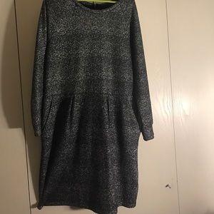 Dresses & Skirts - Metallic dress with pockets