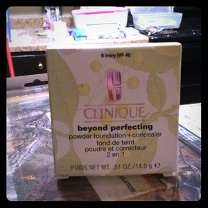 Clinique beyond perfection POWDER & Concealer NEW