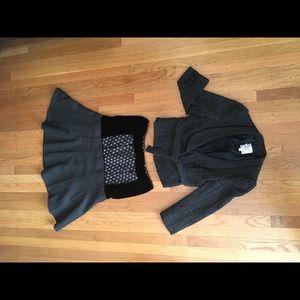 3 pcs! Nanette Lepore jacket, skirt, Free People