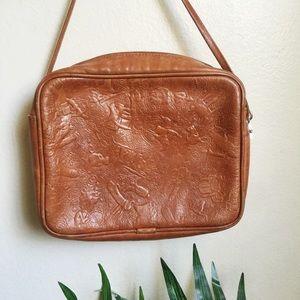 Western cow girl caramel purse