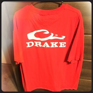 Drake Waterfowl XL Red Graphic Tee