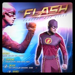 The FLASH Fastest Man Alive Costume