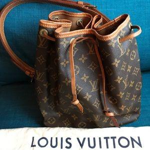 Louis Vuitton Petite Noe Drawstring Purse