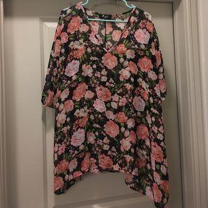 Meritt Floral Sheer Top