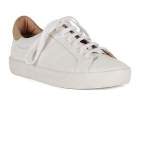 Joie dakota white leather sneaker size 37.5