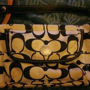 A coach small handbag