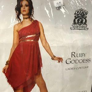 Halloween Ruby Goddess Dress