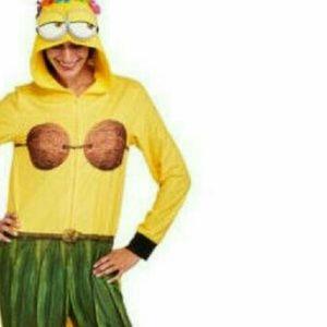 Minion Despicable Me Hula Plus Size Hoodie PJ