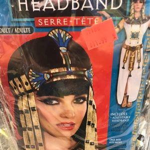 Halloween Cleopatra Headband Costume