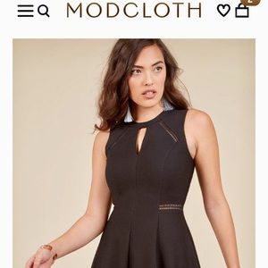 Moxie must have a-line black dress