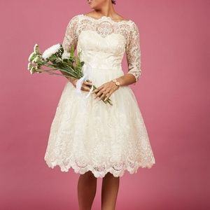 Modcloth Chi Chi London Gilded Grace Dress
