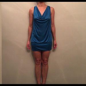 Forever 21 Blue Mini Dress
